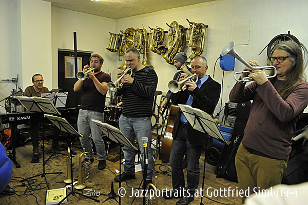 Hackl Werkstatt Outreach Band (photo ©Jazzportraits.at - Gottfried Simbriger) - Cafe Museum Passau
