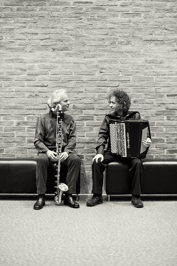 Michael Riessler & Jean-Louis Matinier (photo ©Thomas Radlwimmer) - Cafe Museum Passau